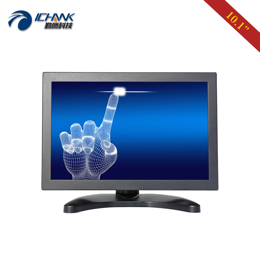 ZB101TC V59 10 1 inch 1280x800 1080p FullView HDMI VGA Metal Case Industrial Anti interference Touch