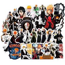 Bleach Sticker Set Lot Of 6 Ichigo Ulquiorra Shinigami Stickers Anime Manga New