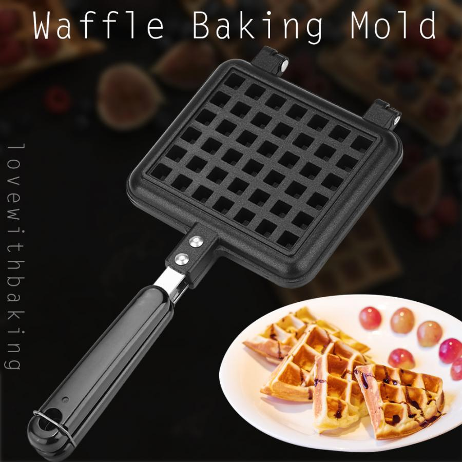 Portable Non Stick Waffle Maker Machine To Make Pan Cake And Breakfast For Home Kitchen 4