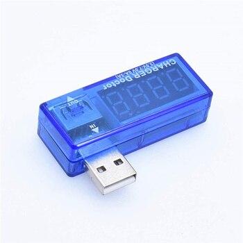 Medidor de voltaje de carga de corriente móvil USB Digital Mini cargador USB doctor voltímetro amperímetro con número de seguimiento