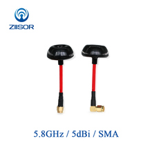 Buy 5.8GHz Quadcopter UAV FPV Antenna Mushroom Image Picture Video Transmission model aircraft Antena SMA Male Aerial TX5800-MG-6 directly from merchant!