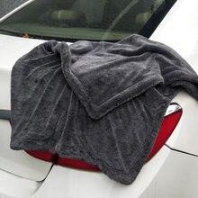 Toalha de lavagem de carro profissional super macio da torção de microfibra toalhas de pano de secagem para carros de lavagem polimento enceramento detalhando