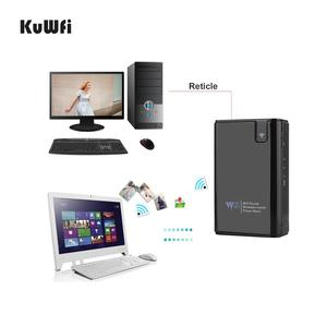 Image 3 - WiFi Router 6000mAh Power Bank Wifi Repeater With RJ45 Port&Wireless Card Reader USB Hub Function Network External Storing