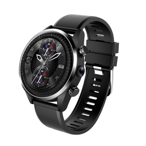 KC05 4G 1,39 дюймов водонепроницаемый спортивный четырехъядерный монитор сердечного ритма Смарт-часы - Цвет: Черный