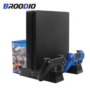 Image 1 - Multifunktionale Vertikale Console Cooling Stand Controller Ladegerät Ladestation Für SONY Playstation 4 PS4/PS4 Dünne/PS4 Pro