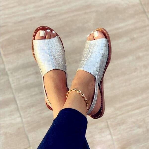 Летние женские ортопедические сандалии на танкетке, Женская офисная обувь, Винтажная обувь с перфорацией, повседневные дамские сандалии без застежки с шитьем Боссоножки и сандалии      АлиЭкспресс