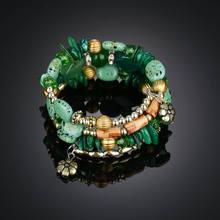 Новые роскошные богемные ювелирные изделия Многослойные браслеты