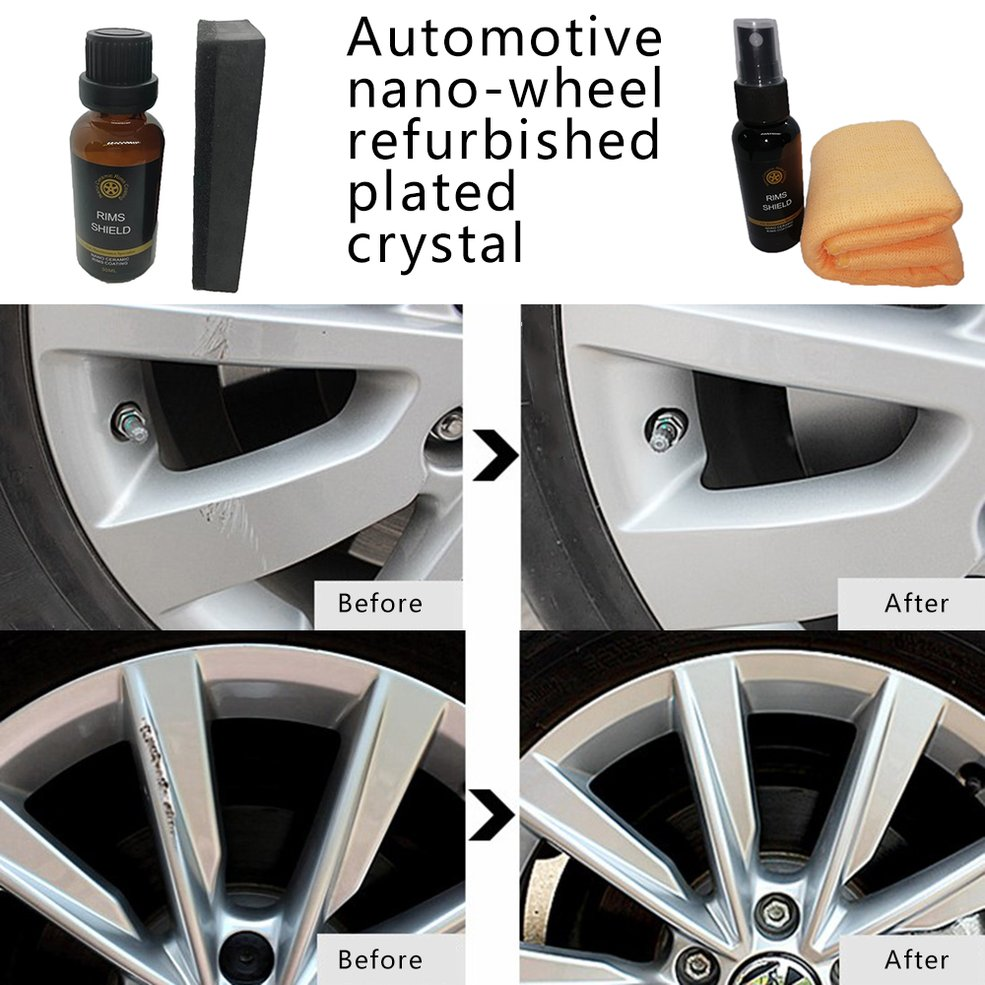 Nano Plating Agent Auto Renovative Agent For Car Repair Waterproof Renewing Polishing Tire Car Protection
