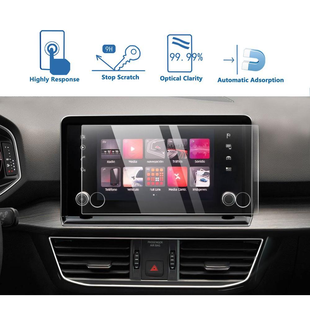 LFOTPP для Seat Tarraco 2019 2020, автомобильный навигационный сенсорный дисплей, навигатор закаленное стекло защита экрана, авто интерьерная Защитная Наклейка