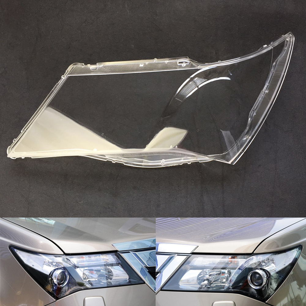 Car Headlamp Lens For Honda Acura MDX 2007 2008 2009 2010 2011 2012 2013  Car  Replacement  Lens Auto Shell Cover