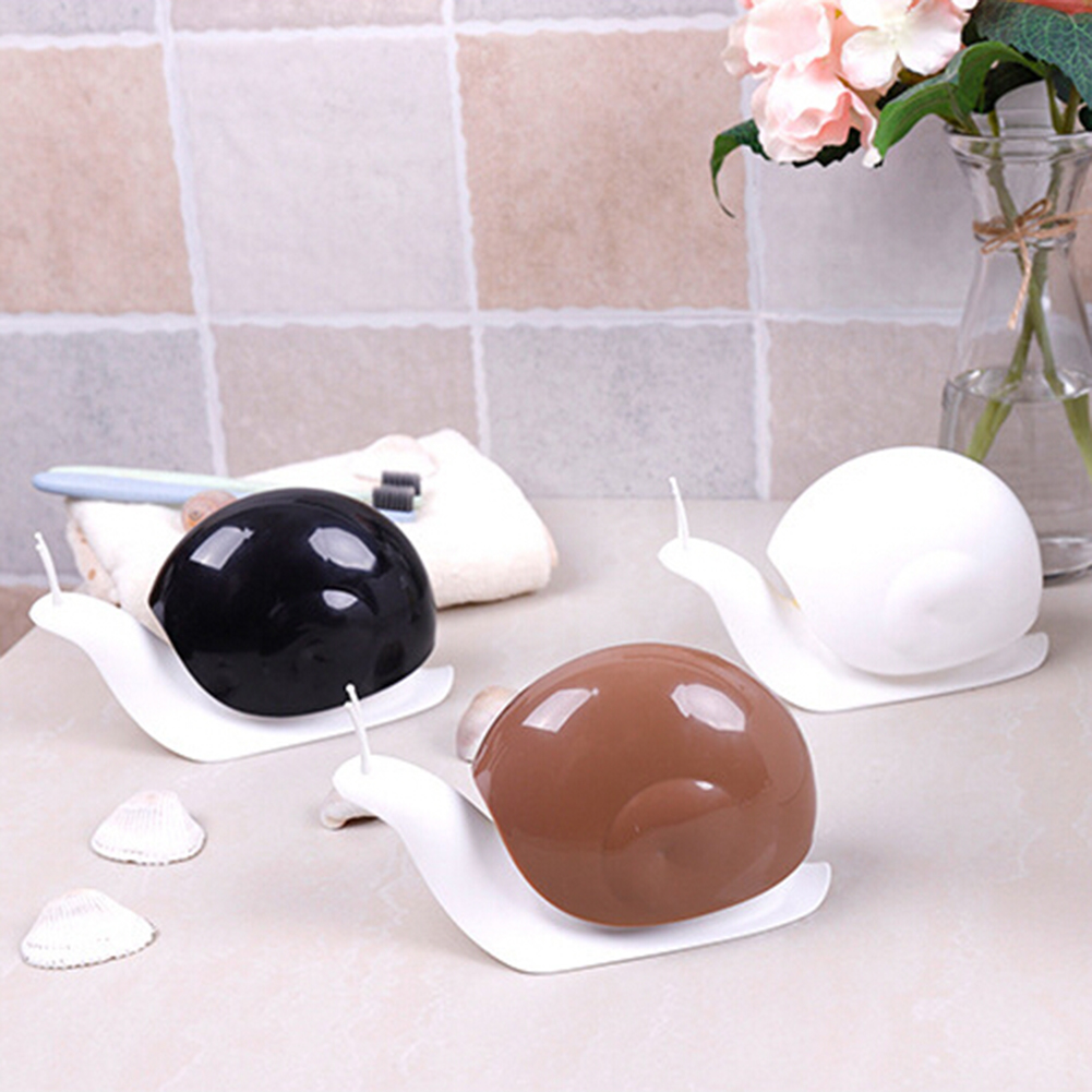 120ml PP Material Snail Shape Press Type Liquid Soap Dispenser Home Bathroom Shampoo Lotion Bottle