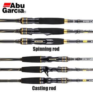 Image 2 - 2019 abu garcia pro max pmax baitcasting vara de pesca carbono m mh ml potência ação rápida água salgada pesca tackle1.98m 2.13m 2.44