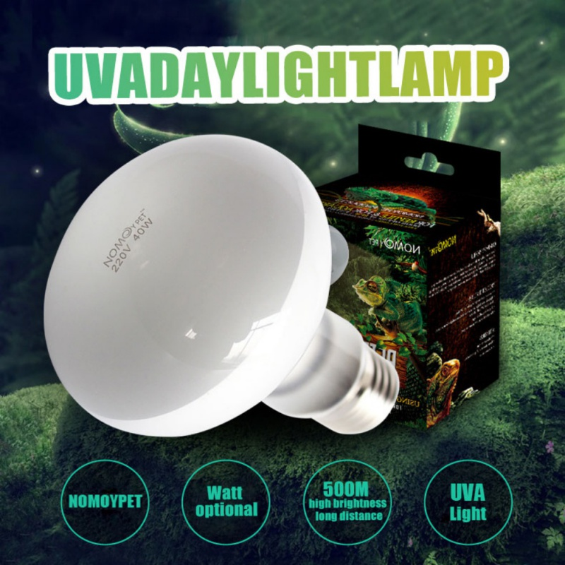 UVA+UVB Reptile Lamp Bulb Turtle Basking UV Light Bulbs Heating Lamp Amphibians Lizards Temperature Controller Light Bulb