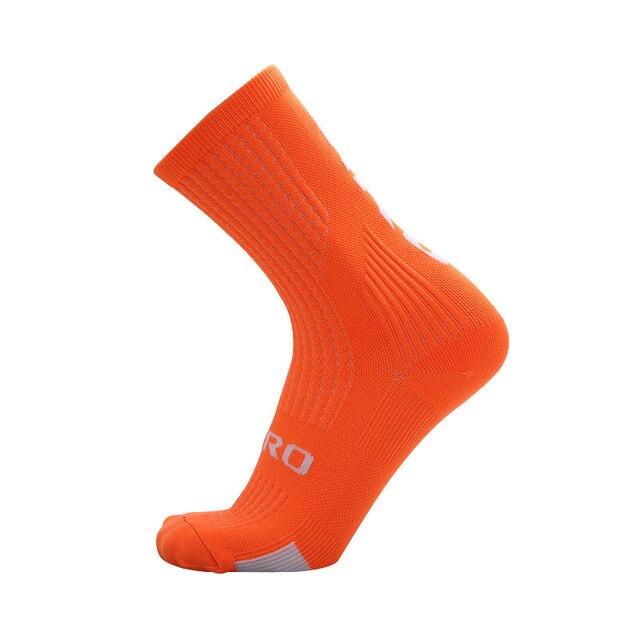 Ciclismo meias homens mulheres joelho meias altas meias de futebol correndo esportes equipe caminhadas meias de algodão sobre o joelho meias 6
