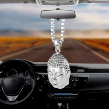купить Bemost Car Pendant Lucky Buddha Ornaments Automobiles Rearview Mirror Suspension Decoration  Auto Accessories Styling Gifts по цене 308.07 рублей
