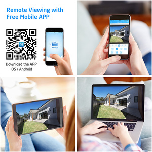 Image 5 - H.View 8CH CCTV System 1080P 8CH CCTV DVR Surveillance System 4PCS 1080P 2.0MP IR Outdoor Security Camera 1200 TVL CCTV Camera