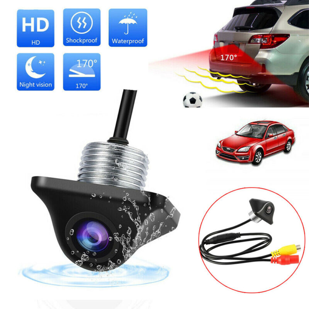 170 Degree Reverse Backup Car Front Rear View Camera Night Vision Parking CCD HD Brand New And High Quality