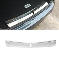 Stainless Steel Car Inner Rear Bumper Protector Trunk Guard Plate Side Car Bumper Protector Mouldings
