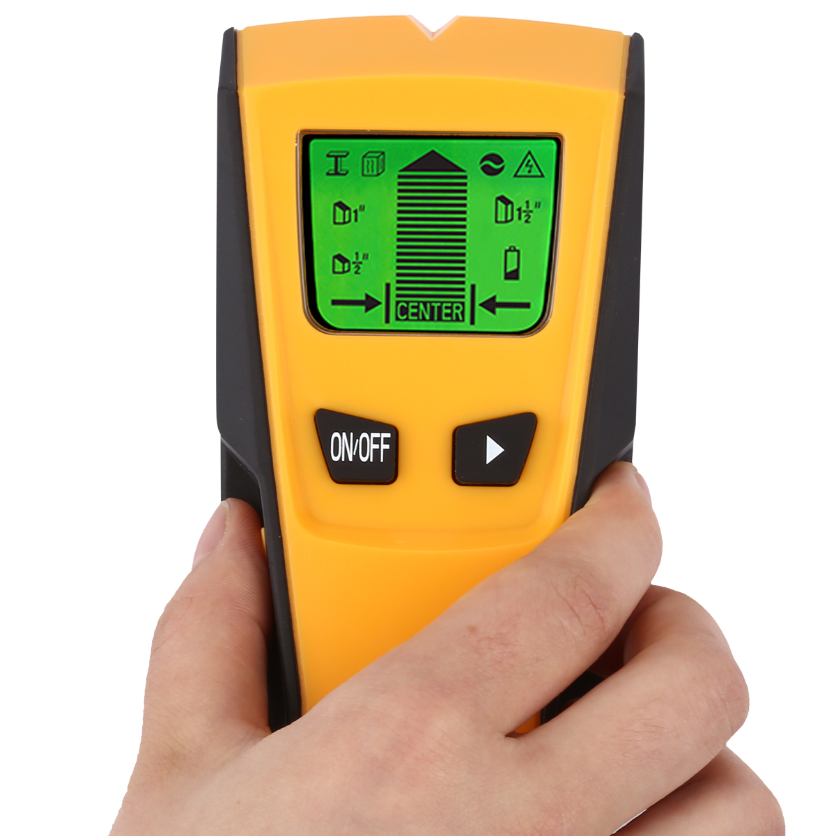 TH210 Wall Thickness Gauge Without Battery Backlight Stud Metal AC Wire Scanner Wall Stud Finder Electronic Auto Calibration