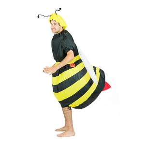Image 5 - Inflatable Bumble Bee Costumes Women Men for Adults Party Carnival Cosplay Dress Blowup Outfits Halloween Purim Suits
