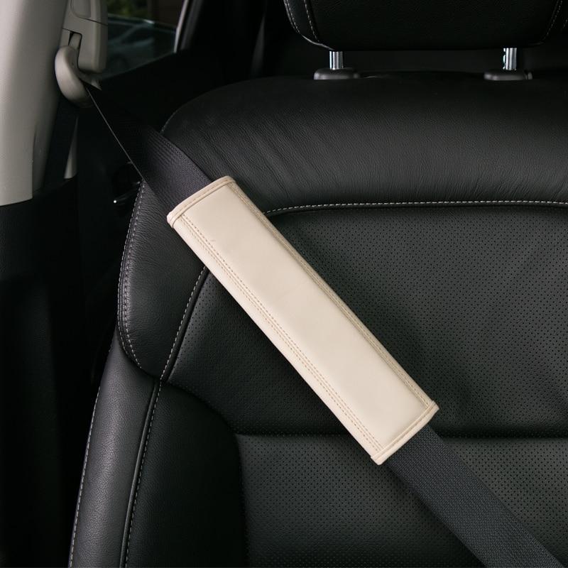 1//2 Pcs Car Seat Belt Shoulder Safety Pads Cover Cushion Harness Pad IT