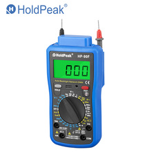 HoldPeak HP-90F Multimetro Digital HoldPeak HP-90F Digital Network Multimeter Meter with Telephone Line and Network Cable Test kosadaka convoy xs 90f pnt