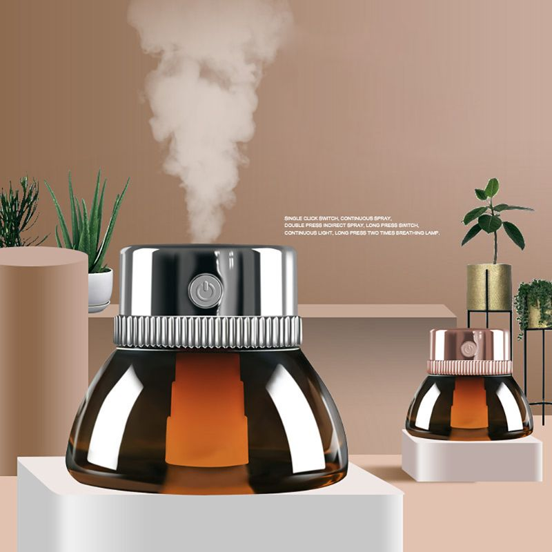 200ml Ultrasonic Essential Oil Diffuser Mini Aromatherapy Air Humidifier Night Light For Home Use
