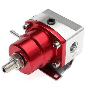 Image 3 - Universal ajustável regulador de pressão combustível óleo 160psi calibre um 6 extremidade montagem mangueira kit