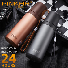 Thermos Stainless Steel Vacuum Flask Coffee Thermo Mug School Insulated Bottle Home Cup Travel Water Business Tumblers