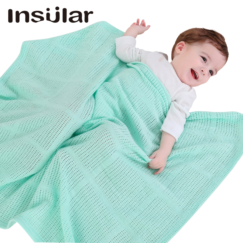 Hollow multifunctional blanket  baby blankets swaddle stuff 0-3 months