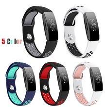 Новый модный спортивный силиконовый браслет ремешок для Fitbit Inspire/Inspire HR Браслет ремешок фитнес-трекер # G20