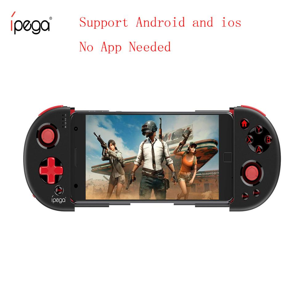 iPEGA 9087S Joystick for Phone Gamepad Android Game Controller Bluetooth Extendable Joystick for ios Tablet PC Android Tv Box(China)