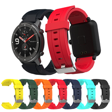 Für Amazfit bip S GTR 42mm 47mm GTS Smart Uhr Strap Ersetzen Band für xiaomi huami bip lite midong Armband 20 22mm