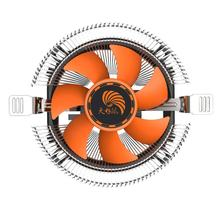 Layanan Panjang Kehidupan Super Tenang Komputer PC CPU Cooler Cooling Fan Heatsink untuk Intel LGA775 1155 AMD AM2 AM3 754(China)