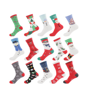 5 pairs lot pack women socks new arrival Explosion fashion tide Christmas personality Creativity happy funny