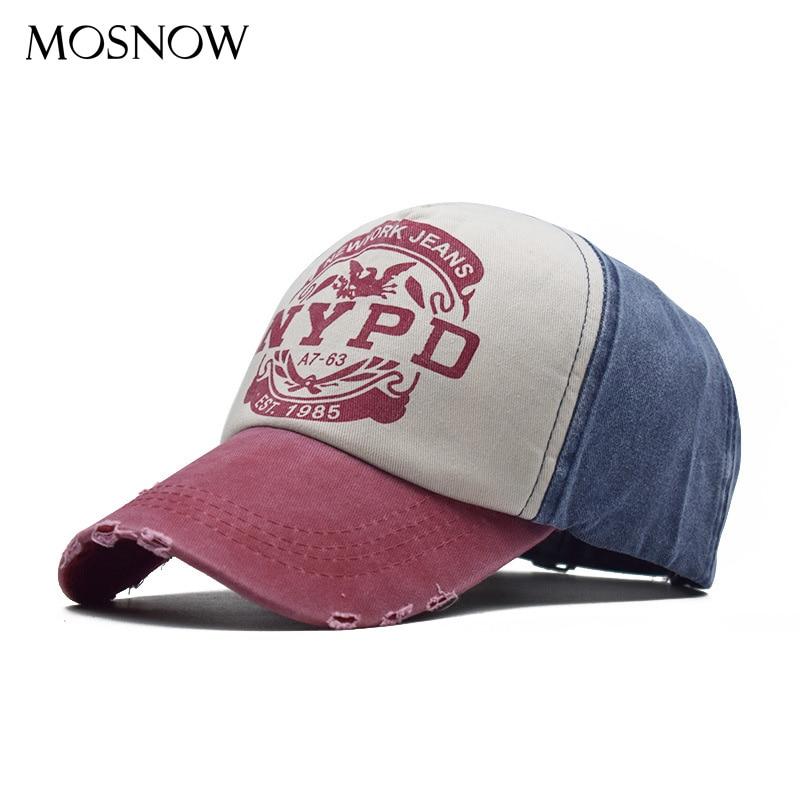 Cap Men Snapback Baseball Cap Cotton Fitted Hat Summer 5 Panel Hat Unisex Casual Cap Hip Hop Hat  Washed Cap Vintage Gorras
