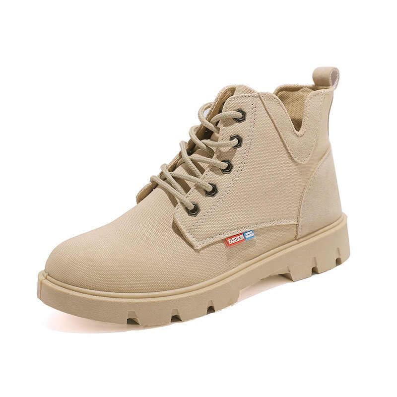 Женские джинсовые кроссовки на платформе, модные повседневные кроссовки на вулканизированной подошве, удобные мягкие дышащие ботинки-мартинсы, 2020