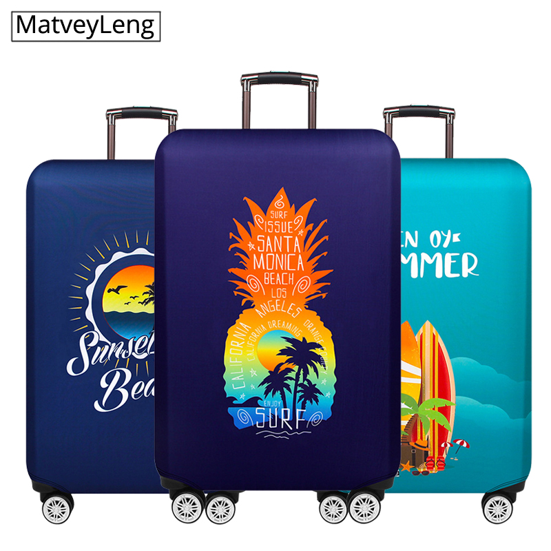 Thicker Travel Luggage Protective Cover Suitcase Case Baggag Elastic Luggage Cover Suitcase Travel Accessorie Apply To 18-32inch