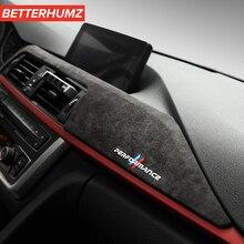 Alcantara Suede Interior Car Dashboard Decoration Panel ABS Cover Car Styling Sticker For BMW F30 F31 F32 F34 F36 3GT 2013 2019