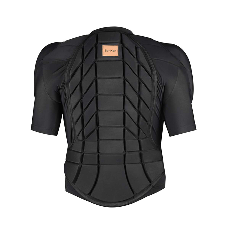 BenKen Ultra Light Protective Gear Outdoor Skiing Anti-Collision  Anti-Collision Armor Spine Back Protector Sports Shirts