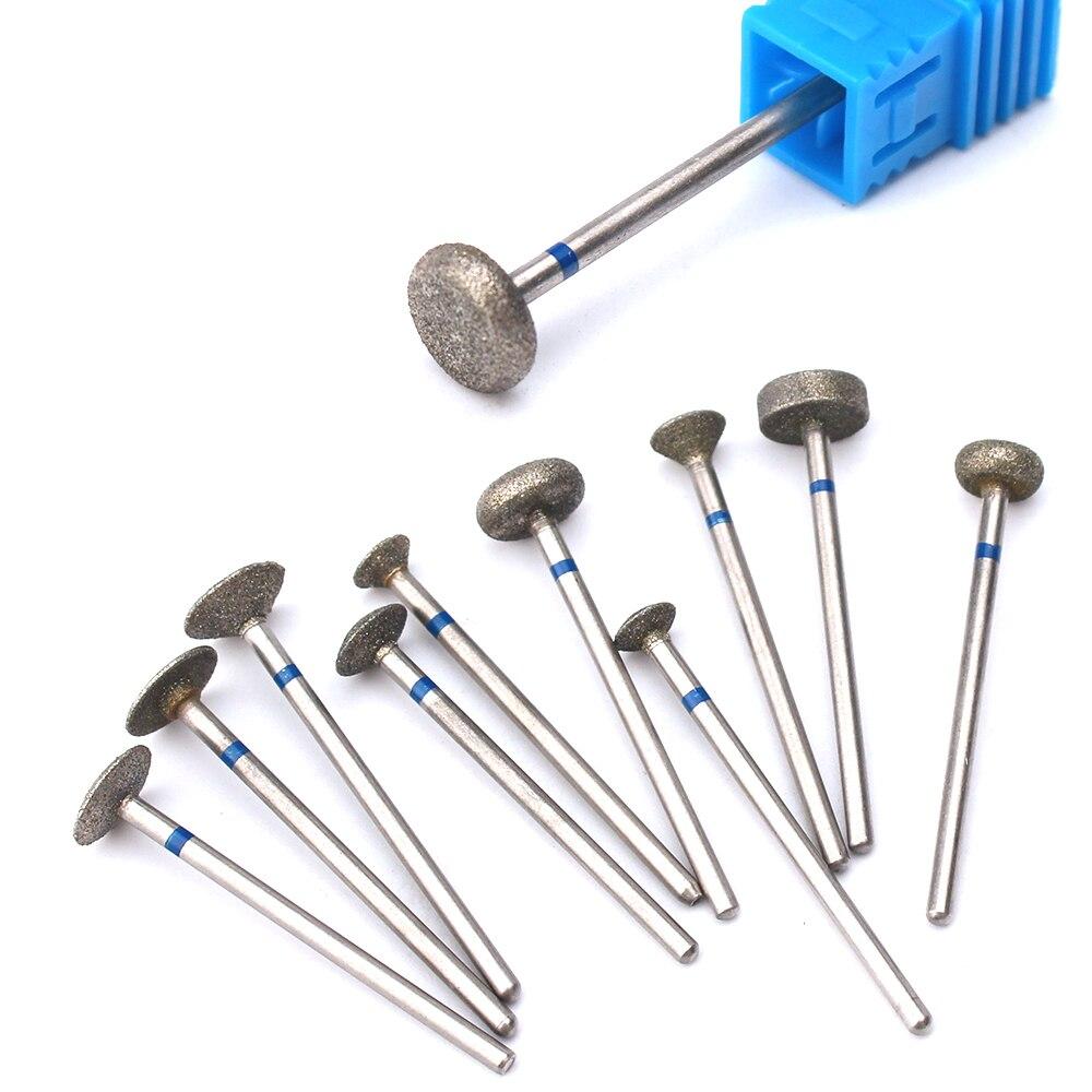 Фрезы для маникюра и педикюра, сверло для ногтей, инструменты для очистки кутикулы ног, пилка для ногтей, Шлифовальная головка, аксессуары