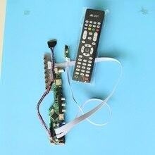 kit for B156XW02 V0 Panel Screen Controller driver board 1366X768 USB HDMI VGA remote 15.6