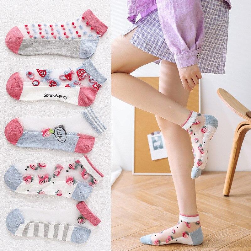 10 шт = 5 пар в партии модные носки для женщин и мужчин, новые женские весенние туфли-лодочки для девочек; Хлопчатобумажные носки Цвет Новинка ...
