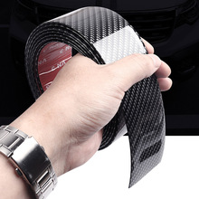 For Toyota CHR C-hr 2017 2018 Carbon Fiber Car Door Protector Sticker Sill Scuff Plate Pedal Strip Scratchproof Protective Tape цена 2017