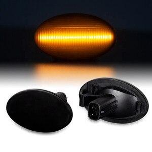 Image 1 - Carro accessorie dinâmico led sinal de volta lado marcador blinker luz para subaru forester impreza 2008 2019 indicador de lâmpada sequencial