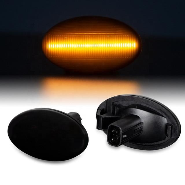 Carro accessorie dinâmico led sinal de volta lado marcador blinker luz para subaru forester impreza 2008 2019 indicador de lâmpada sequencial