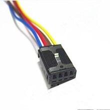 2/4/10/20/50 ชิ้น/ล็อต 4 PIN/ทิศทางดัดแปลงปลั๊ก SOCKET ลวดสายรัด Pigtail สำหรับ VW AUDI 8E0 971 832 8E0971832