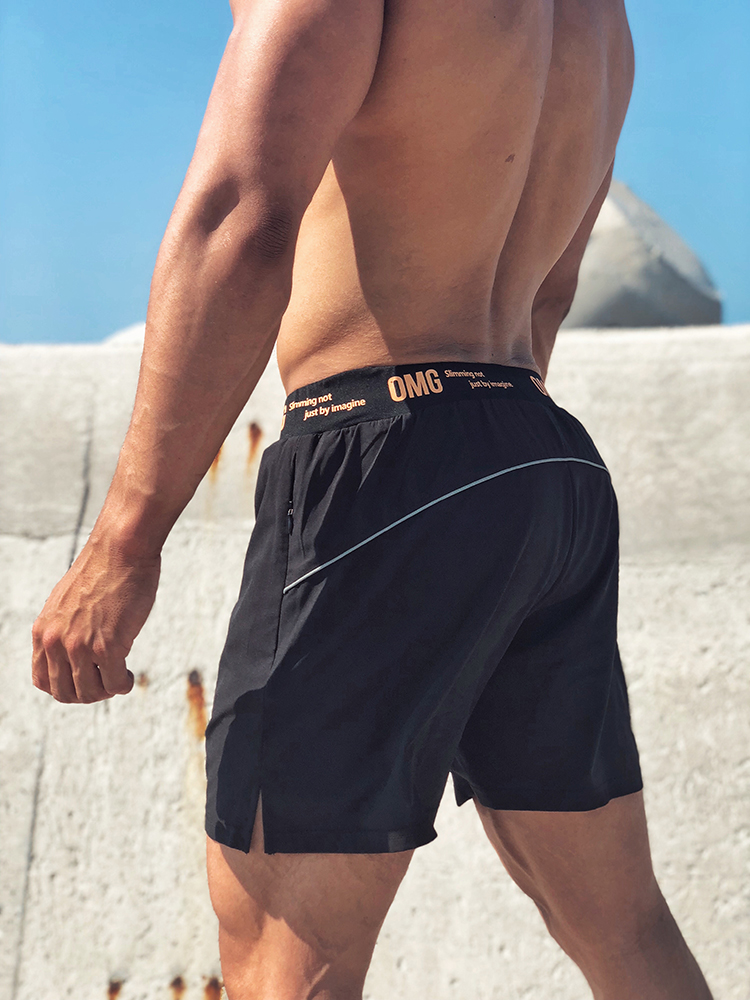 Gym Sport Men Casual Shorts Summer Running Stretch Shorts Men Traning Sweat Thin Sweatpants Erkek Giyim Mens Clothing XX60MS