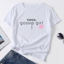 Женская летняя футболка со смешным принтом Сплетницы