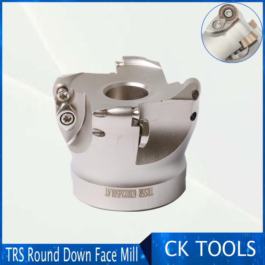 Hard Trs Round Nose Cutter Head R5 Plane Flying Milling Cutter Head 5r50-22 6r63 80 100 125 160 200